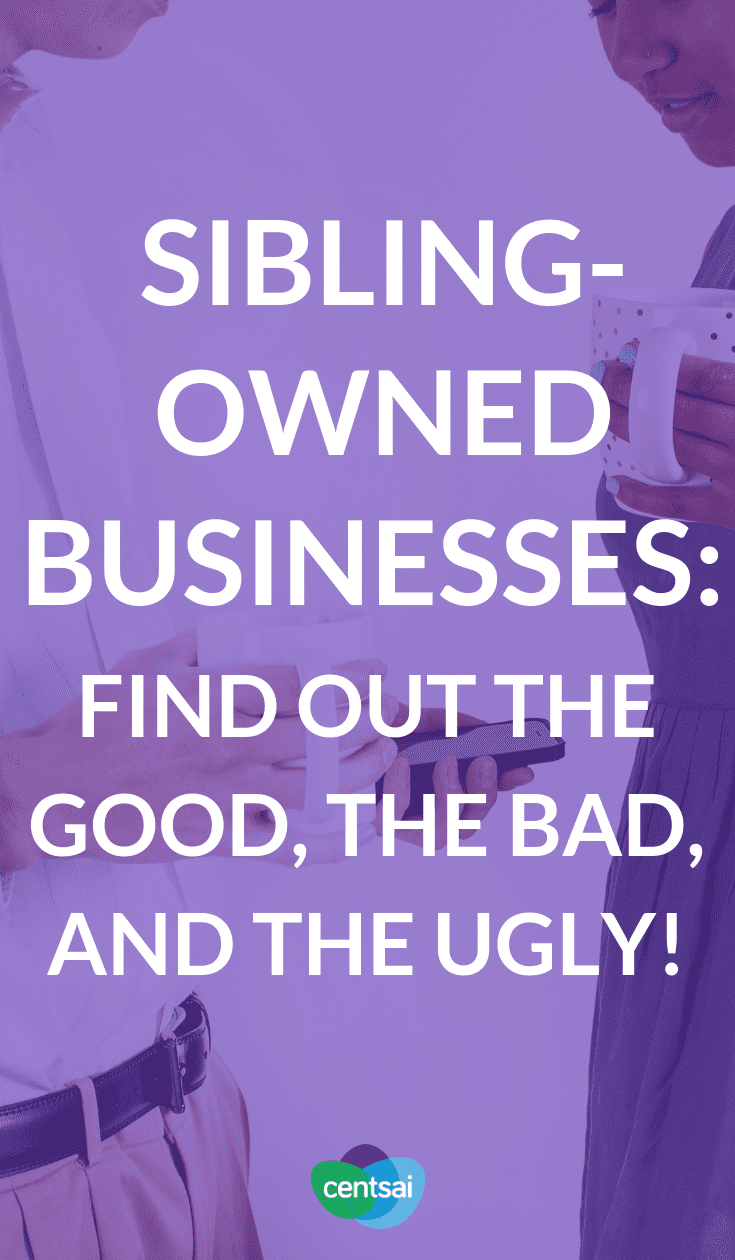 Sibling-Owned #Businesses: Find Out the Good, the Bad, and the Ugly! Have you ever thought about working with siblings? For #NationalSiblingsDay we spoke with people who do just that. Find out what it's like. #financialliteracy #financialplanning #financialindependence #investment