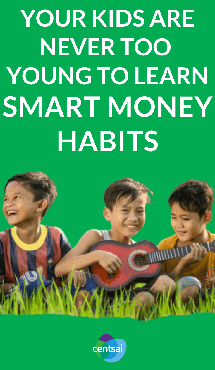 Teach Your Kids Good Money Habits. Not sure how to start teaching kids about money? Personal finance expert and columnist Cameron Huddleston has some tips. Check'em out. #children #money #moneymatters #parentingtips #goodmoneyhabits