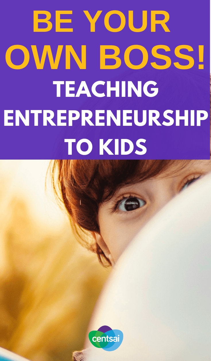 Kids can learn to be their own bosses early on. Read one dad's hopes for his daughter and his take on teaching entrepreneurship to kids. Learn more about business entrepereneurship startups. #entrepreneurshiptips #entrepreneurshipforkids