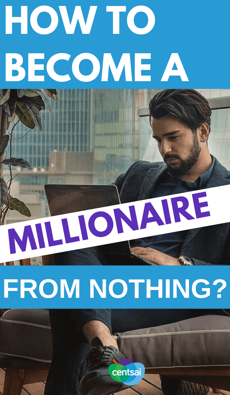 Making millions takes work, but it's doable. Learn how to become a millionaire from nothing with these millionaire recipes that can help you. #howtobecomeamillionaire #howtoberich #millionaire #frugalhacks #frugallifehacks #frugaltips