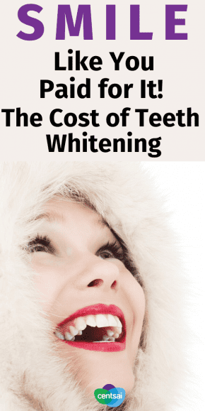 How Much Does Teeth Whitening Cost Centsai