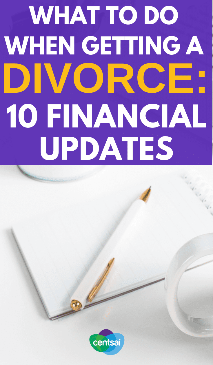 Getting a divorce is an emotional nightmare. Don't let it create a nightmare for your finances, too. Here are a #divorceplanning you should make sure you consider and to have an idea what is life after divorce. #howtodivorce #marriageadvicedivorce #gettingdivorce