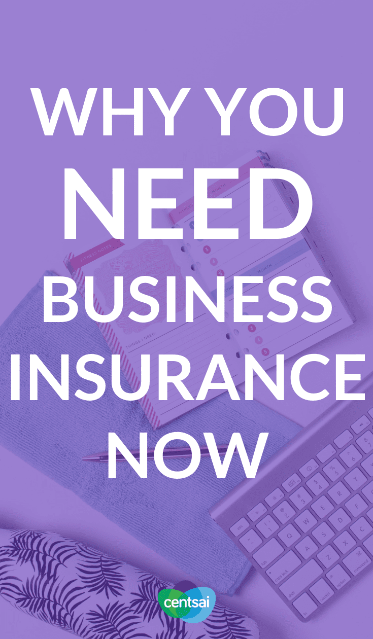 Why You Need Business Insurance Now. Why Do You Need It? Is your small business properly protected against an unexpected crisis? Learn how to shield yourself from damage with the right types of business insurance tips. #businessinsurance #businessinsurancetips