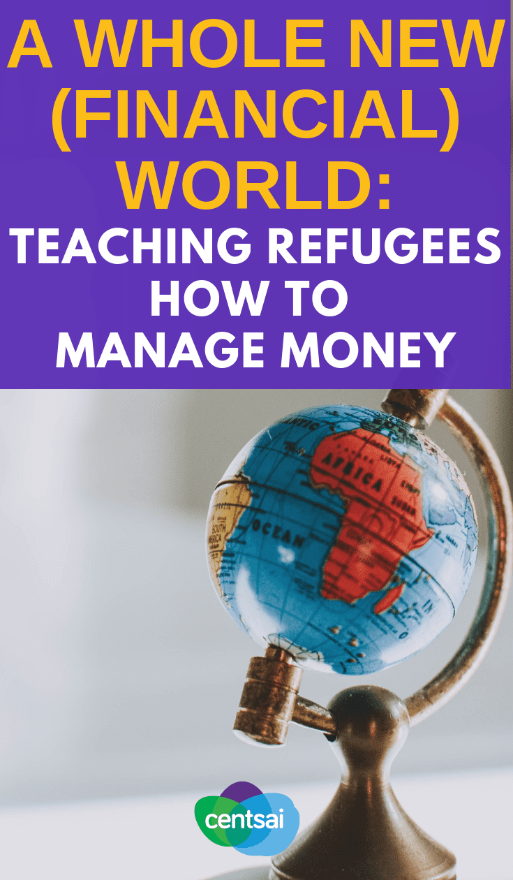 Learning how to manage money is hard even without language or cultural barriers. What's the best way to teach refugees about #personalfinance? #FinancialLiteracy#financialfreedom #finance #financeplanning