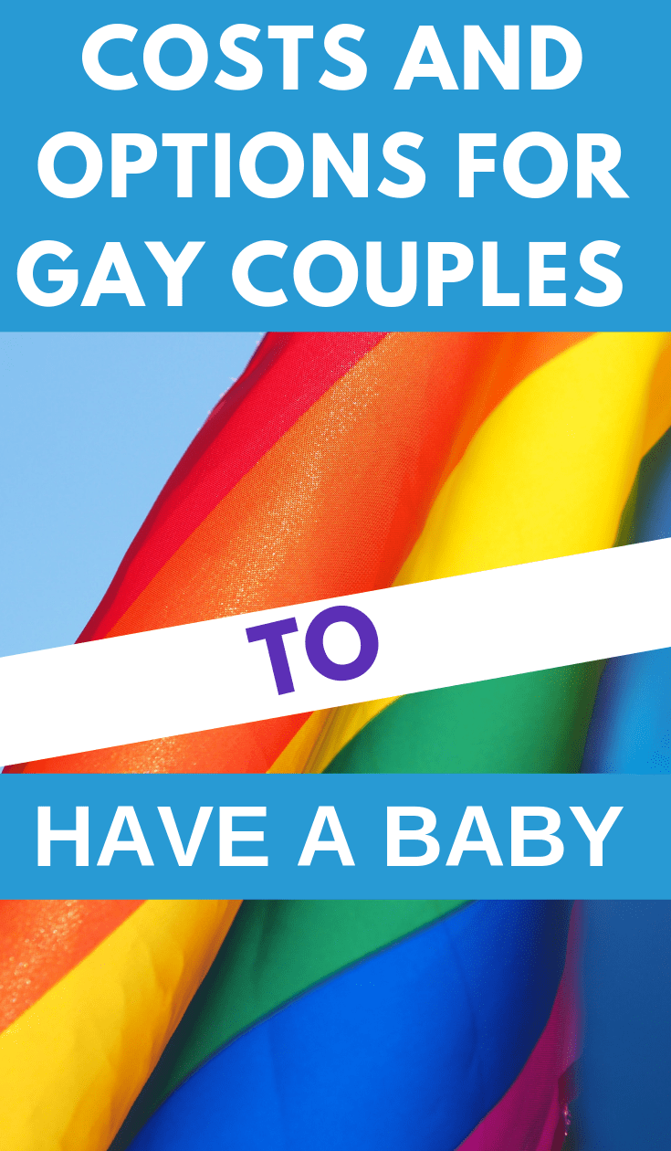 If you're LGBT+, having children can be expensive. Learn about the options for gay couples to have a baby and figure out what's best for you. #frugalhacks #frugallifehacks #frugaltips