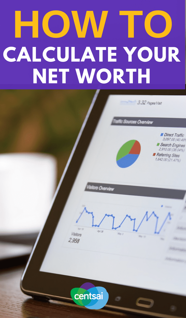 Your net worth is about more than just money in your bank account, but calculating it is as easy as one, two, three — almost. #FinancialLiteracy #financialfreedom #personalfinance #finance #financeplanning