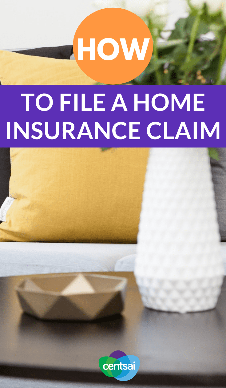 Floods, fires, and other emergencies can happen when you least expect them. Learn how to file a home insurance claim should disaster strike. #Lifeinsurancefacts #lifeinsurancemarketing #homeinsurancce #homeinsuranceclaim