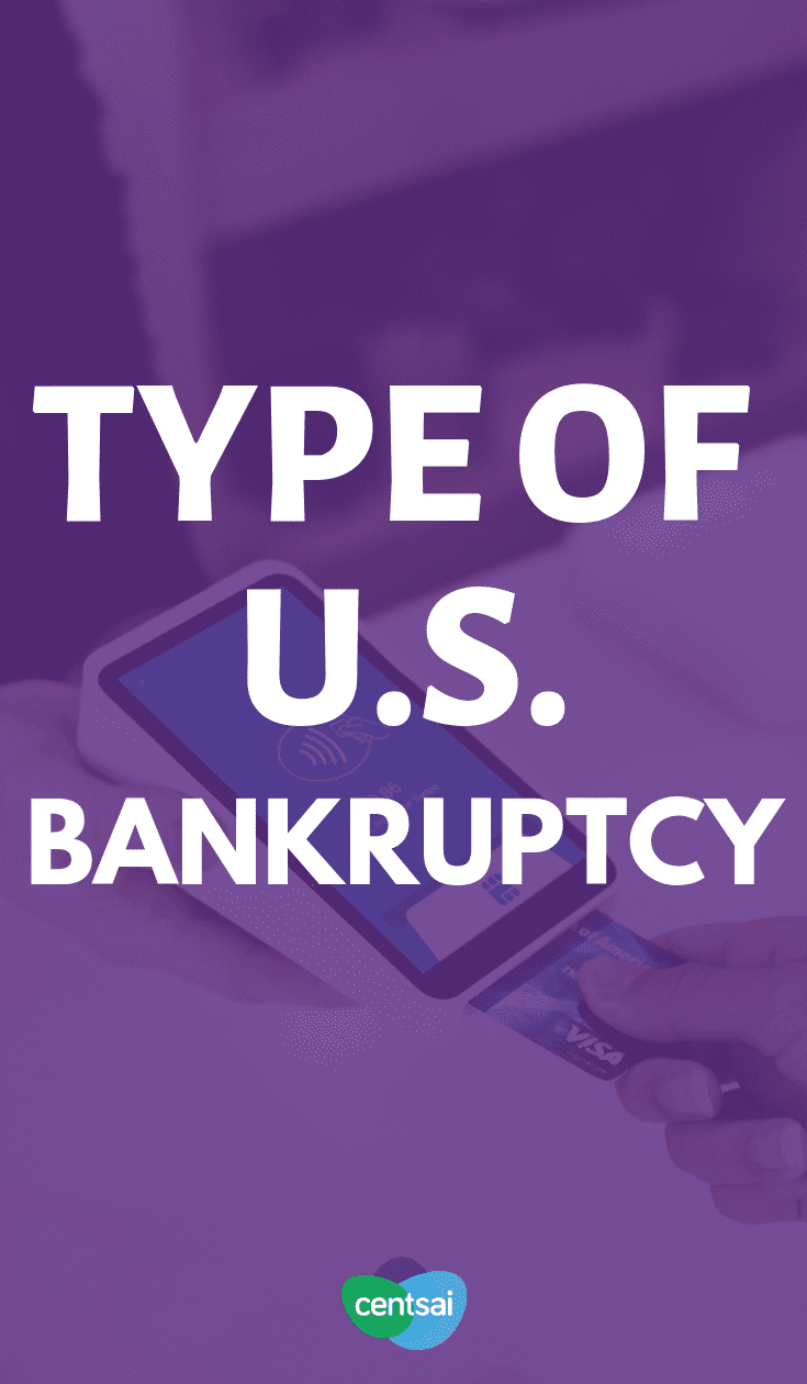 Can't dig yourself out of the financial hole you're in? Make sure you know the different types of bankruptcy so you can file the right option. #FinancialLiterac #financialfreedom #personalfinance