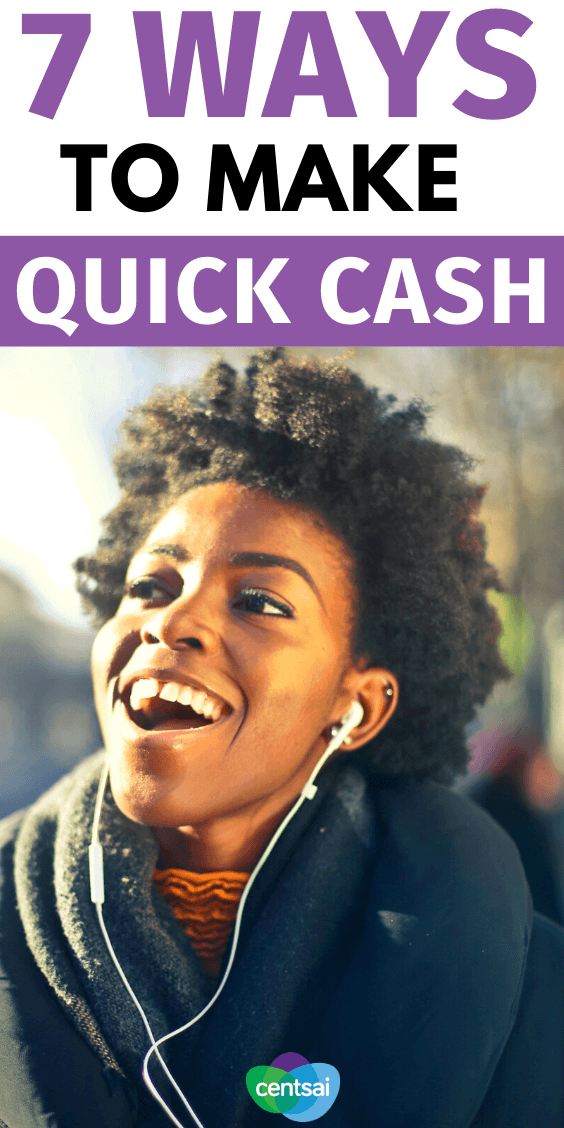Facing an emergency you can't afford? A payday loan may be tempting, but try these best quick cash ideas instead. Your wallet will thank you later. #CentSai #Paydayloans #debttips #Makemoney