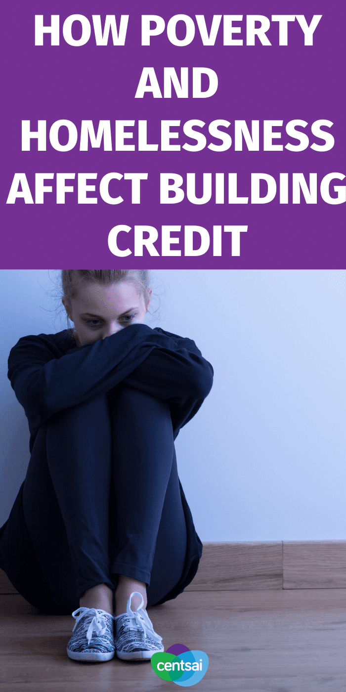 If you're feeling the effects of poverty on both your wallet and your credit score you're not alone. Get one man's tips for building credit. #CentSai #moneytip #managingmoney #homeless #homelesstips #financialhardships