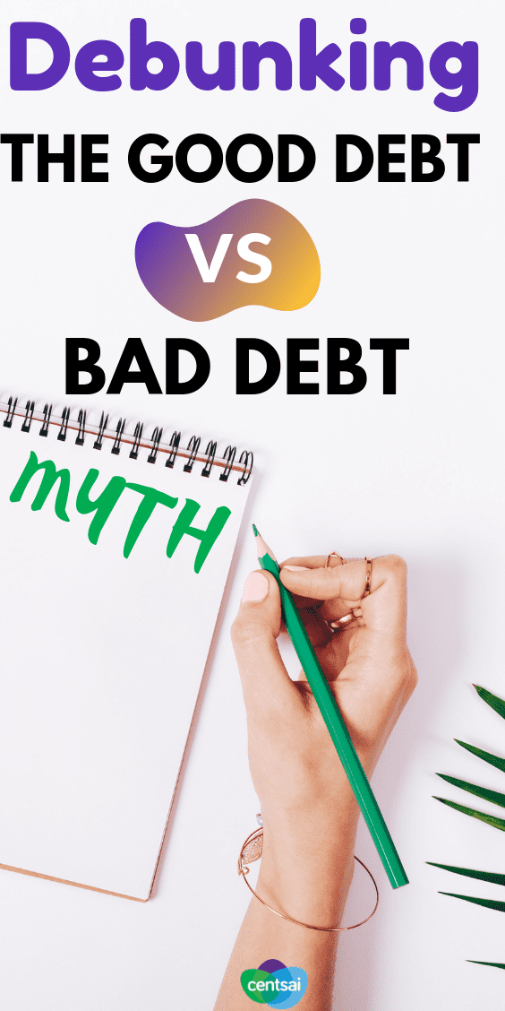 There's conventional financial wisdom about what counts as good debt vs. bad debt, but the reality is far more complex. Let's break it down. #debt #debtmanagement #debtcycle