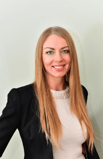 Female entrepreneur Ksenia Yudina
