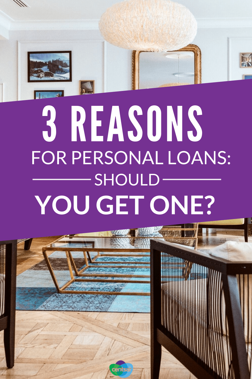 3 Reasons for Personal Loans: Should You Get One? Not sure whether taking on debt is a good idea? Check out the top reasons for personal loans and see these tips whether one might be right for you. #finance #personalloan #loan