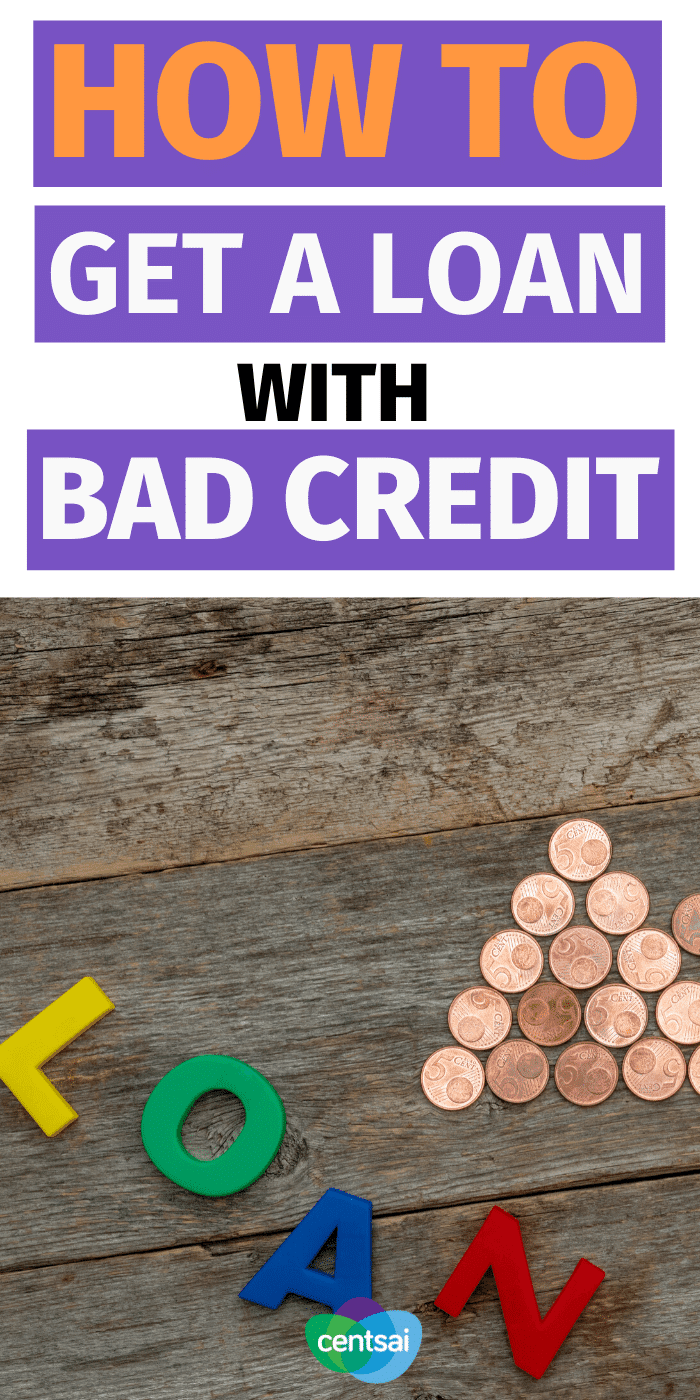 So you need to borrow money, but your credit sucks. Check out these tips for how to get a loan with bad credit with a reasonable offer. #CentSai #improvecreditscore #creditscore #bettercreditscore #buildcreditscore