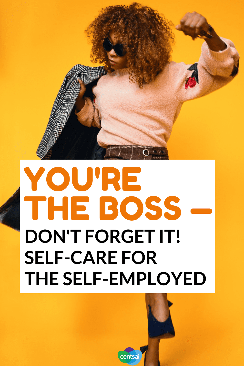 You're the Boss — Don't Forget It! Self-Care for the #SelfEmployed If you're self-employed, you know how hard self-care can be. Check out these tips on how to take care of yourself while still meeting your clients' needs. #entrepreneur #ideas