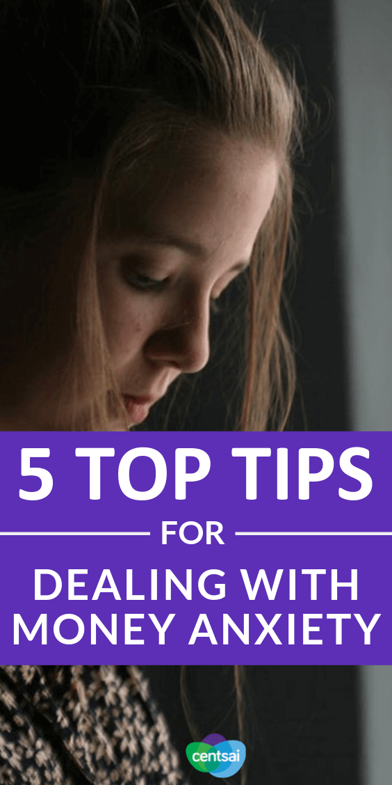 Struggling to overcome your financial fears? Check out these tips for dealing with money anxiety from somebody who's been there. #personalfinance #financialfears #tips #moneytips