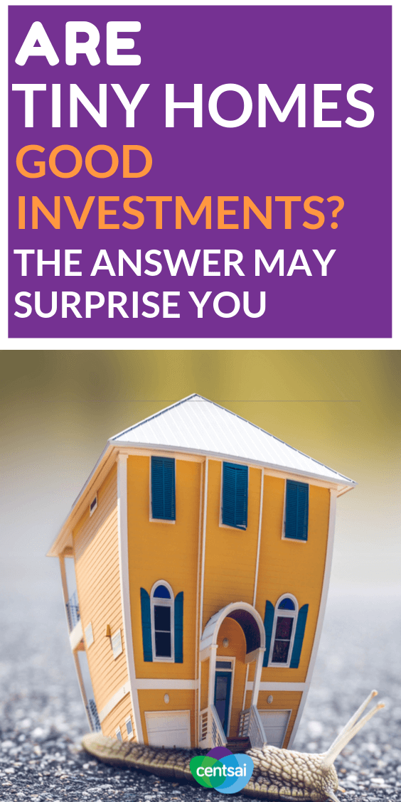 They're all the rage right now — they may even help you save money — but are tiny homes actually good investments? Get the lowdown. #property #tips #investing #goodinvestments