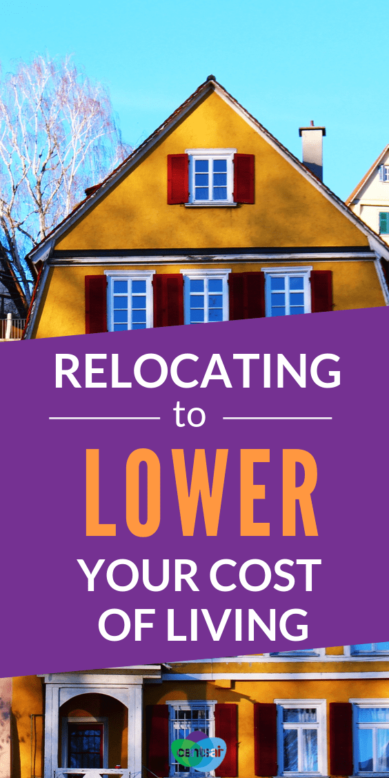 Do you live in an expensive area? Or want to save more money? Learn whether moving to lower your cost of living could be a good idea. #tips #financialliteracy #financialplanning #frugaltips