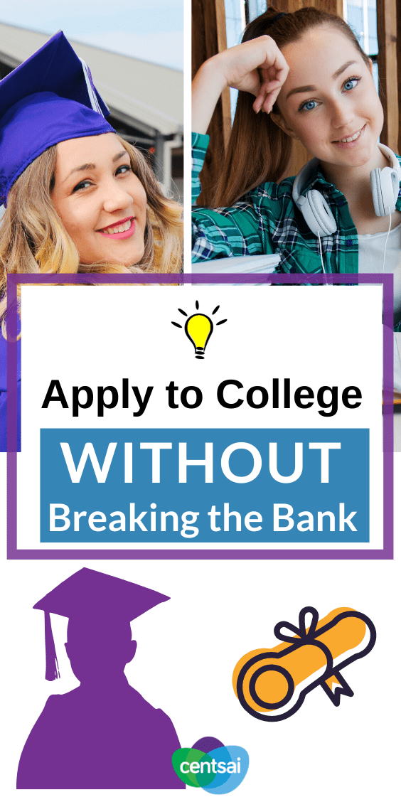 Are you in over your head with college application costs? Check out these tips and learn these preparation on how to apply for college without going broke. #college #collegetips #freshman #hacks