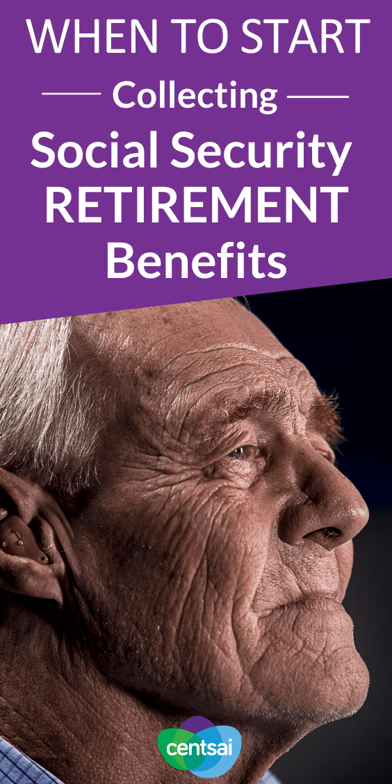 Most people can start collecting social security retirement benefits at 62, but that doesn't mean you should. Find out when is the best time to start. #retirements #CentSai #retirementbenefits #benefitsofearlyretirement
