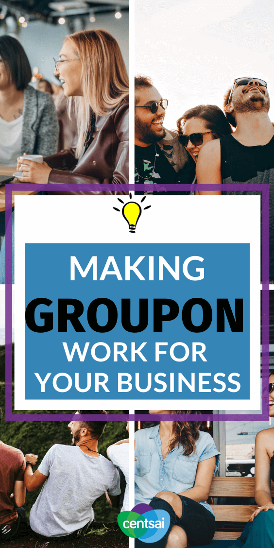 If you're an entrepreneur looking at ways to make money, Groupon might be a good place to start. Learn how Groupon works for business owners. #moneymaking #CentSai #Groupon #makemoney