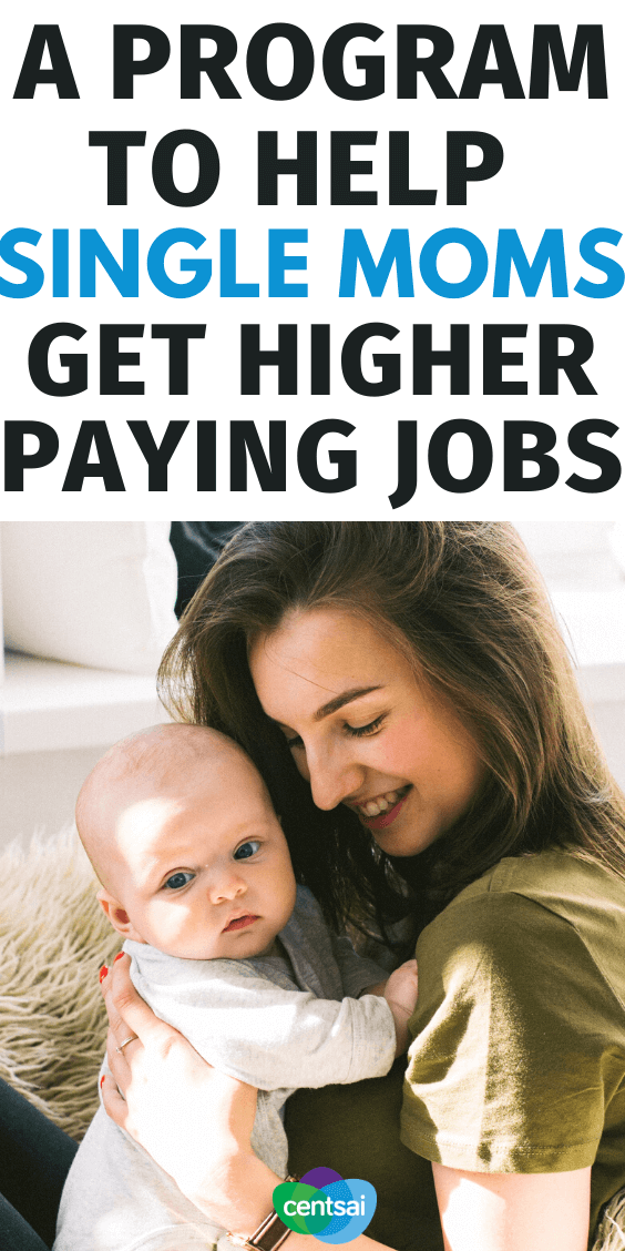Women In Sustainable Employment is a groundbreaking program focused on finding high-paying jobs for women and teaching good money habits. Check out this program to help single moms get higher paying jobs. #CentSai #SinglemomInspiration #Financialindependence