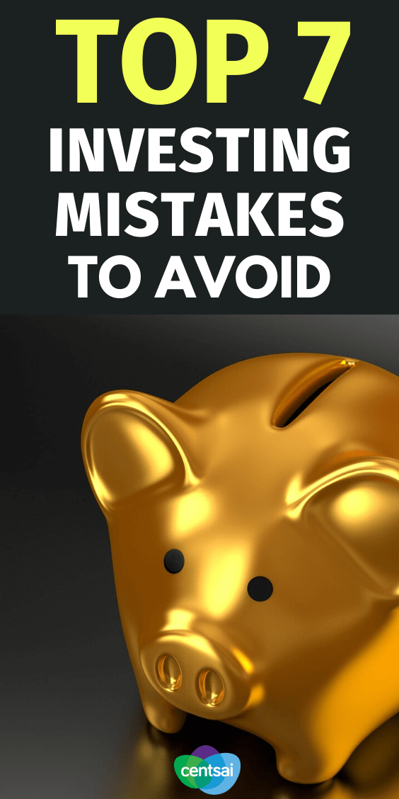 Learn from the errors of others — avoid these top investing mistakes to help ensure your portfolio stays healthy and profitable. Check out these money investment ideas for you and how to avoid investing mistakes. #CentSai #investingmistakes #investment #investing #investmenttips #investmentideas