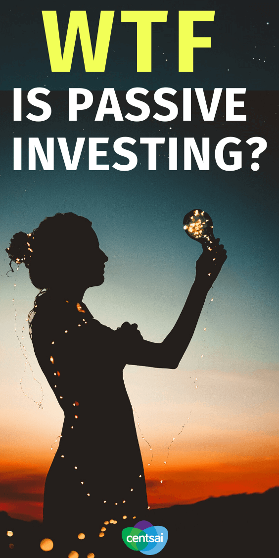 What Is Passive Investing? Ever wanted to make money on the stock market, but feel like you don't have enough time to do it? Then check out how passive investing works. #Passiveinvesting #Investing #investment #makemoney #stockmarket #CentSai
