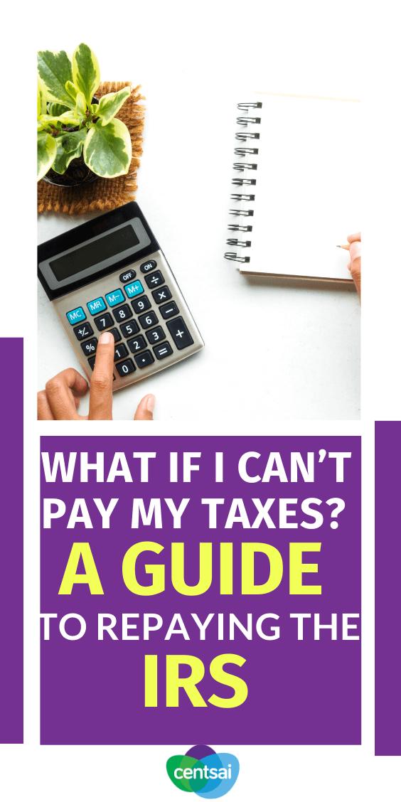 ¿Qué hace si debe impuestos, pero no puede pagar? Lea nuestra guía sobre cómo ocuparse de su situación de la forma más sencilla posible. #taxes #CentSai #taxestips #taxesorganization