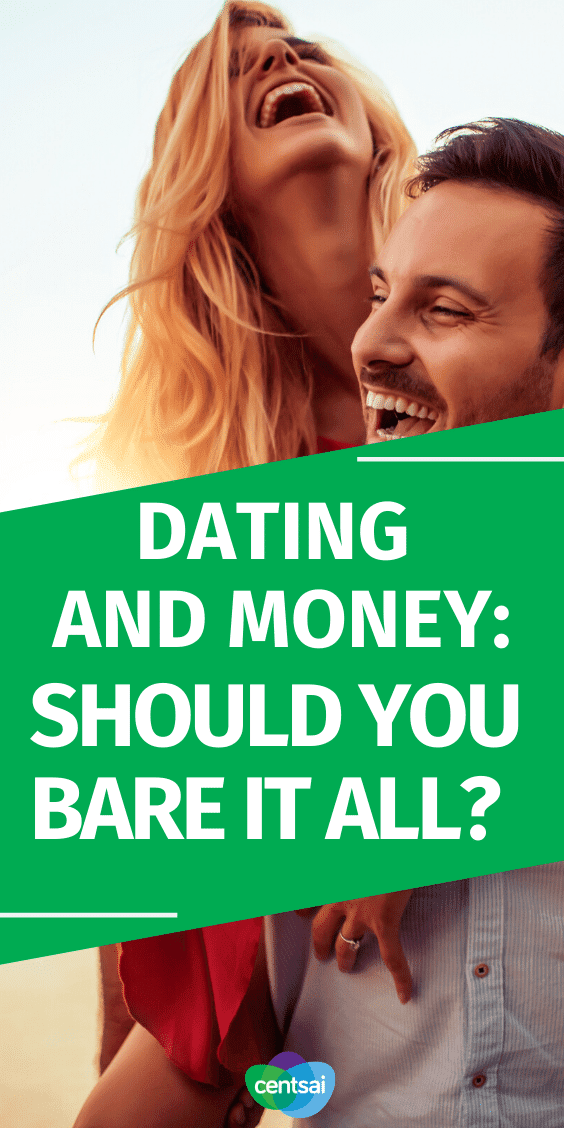 Should You Talk About Money While Dating? Dating and money can be an awkward topic, but don't avoid it. Learn why you should start talking about money early on in a relationship. #money #dating #aboutmoney #CentSai #relationship #datingandmoney