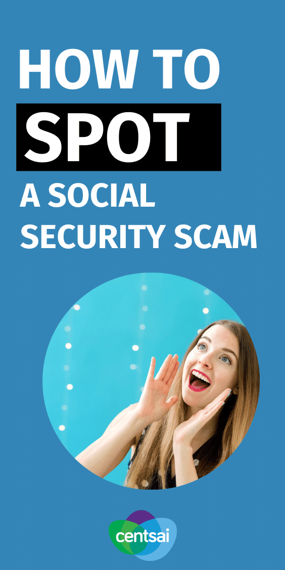 Social security scammers often use one of the following methods to steal your information. Here's how you can spot them before it's too late. #CentSai #socialsecurity #socialsecurityscammers #financialplanning #personalfinance