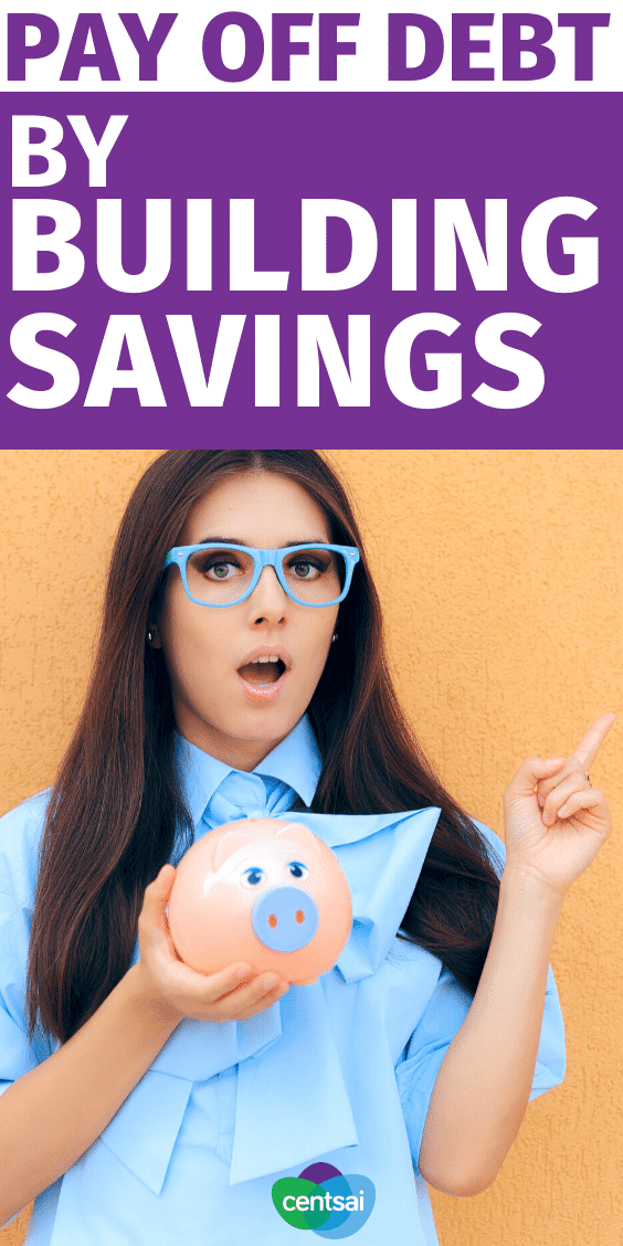 Don't pay extra toward your debt. Learn how building your savings can help you pay off debt quickly — you might even cut costs in the process. #CentSai #payoffdebt #payoffdebt #financialindependence #personalfinanceDon't pay extra toward your debt. Learn how building your savings can help you pay off debt quickly — you might even cut costs in the process. #CentSai #payoffdebt #payoffdebt #financialindependence #personalfinance
