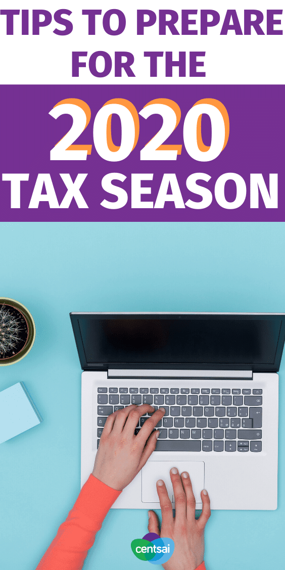 The 2020 tax season began this year on Monday, January 27. Make sure to take note of the following five changes when filing your taxes. Here are 5 tips to prepare for the 2020 tax season and beyond! #CentSai #taxseason #taxpayment #tax2020 #taxprepchecklist #taxes
