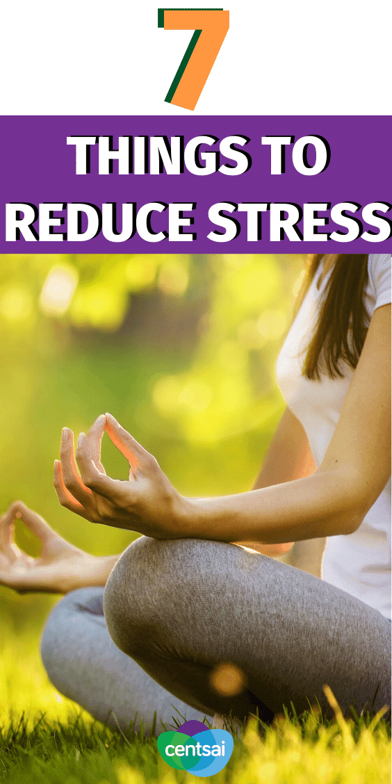 "Many things seem ""out of control"" these days — but there are measures you can take to control what you can. Consider these seven steps that we can all do to reduce stress. #CentSai #reducestress #moneymatters #personalfinance"