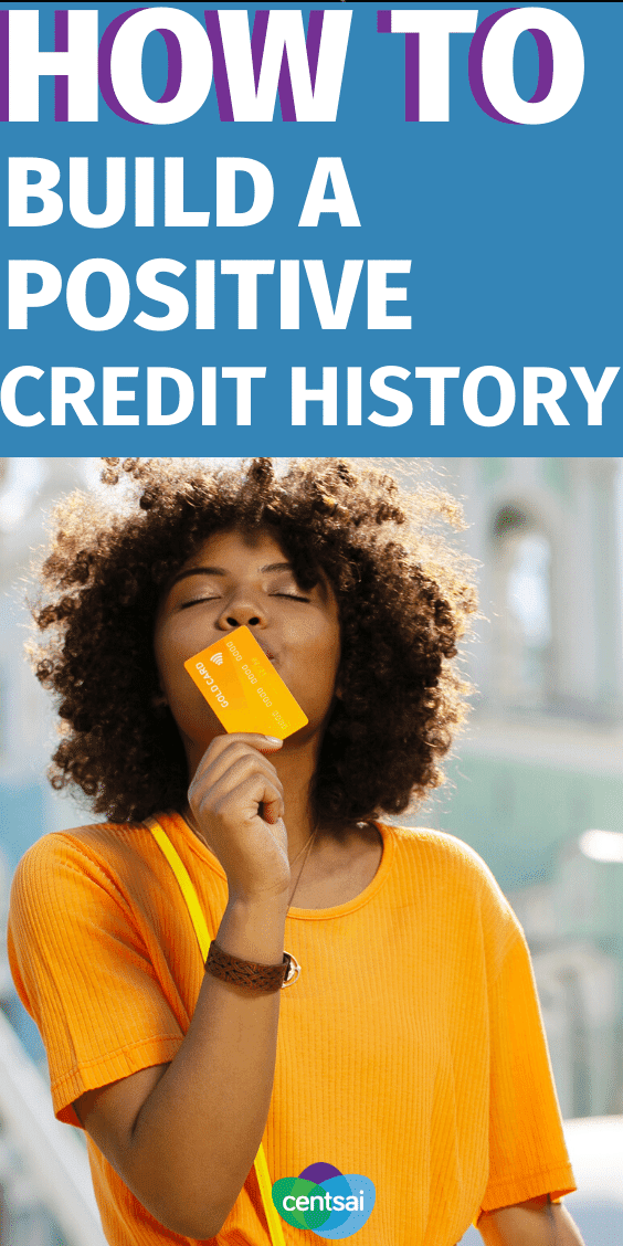 Looking to build a positive credit history, but don't know how to start? Here are a few key points to note as you work on your 'file.' #CentSai #credithistory #credithistoryideas #creditcardtips