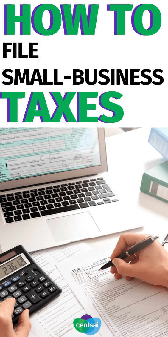 Tax Hacks for Small Businesses. If you run your own business, tax season can be needlessly confusing. Learn how to file small-business taxes with our easy-to-follow guide. #CentSai #smallbusiness #taxseason #taxtips #taxestips
