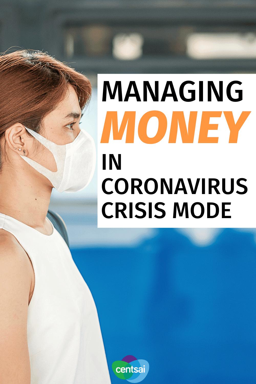 Managing Money in Coronavirus Crisis Mode