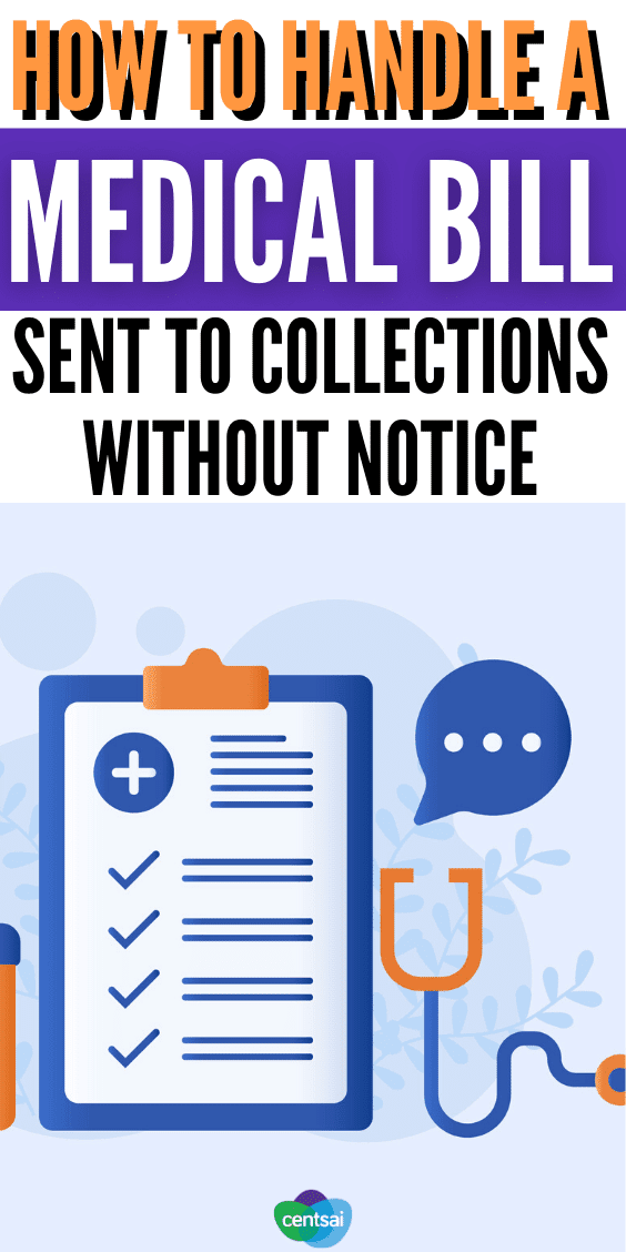 Handling a Medical Bill Sent to Collections Without Notice