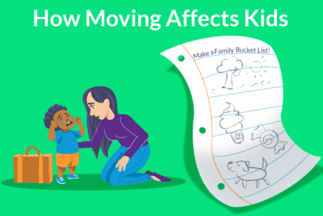 how moving affects kids