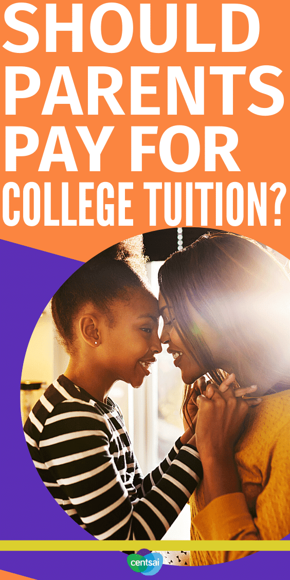 Should Parents Pay for College Tuition