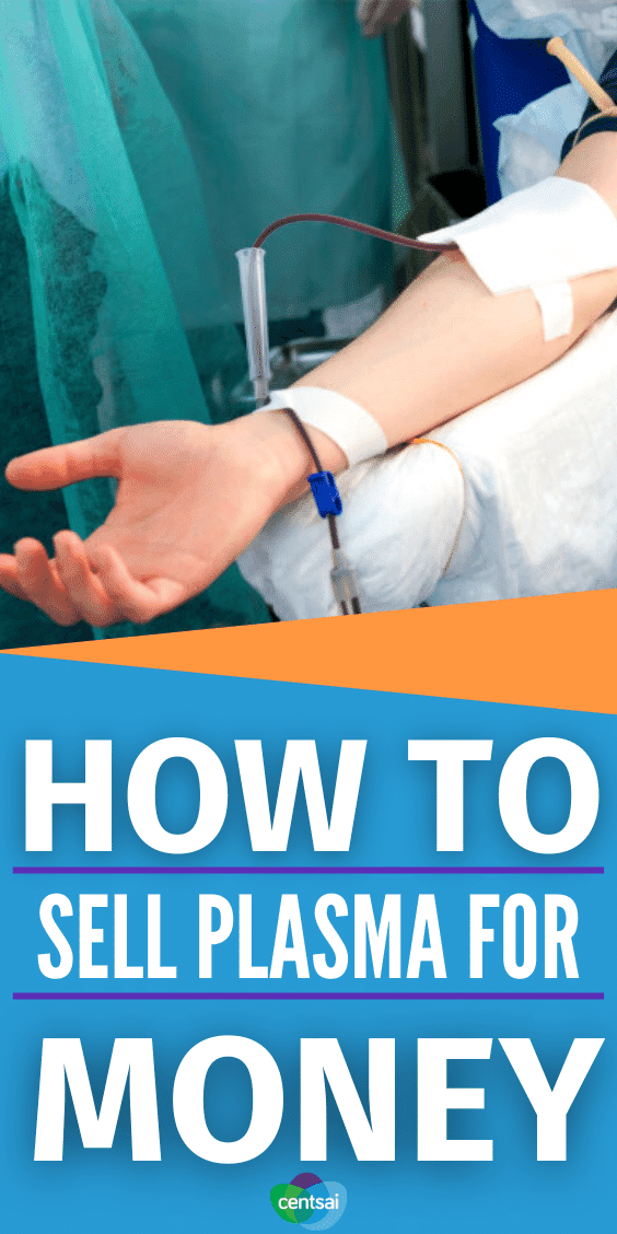 How to Sell Plasma for Money