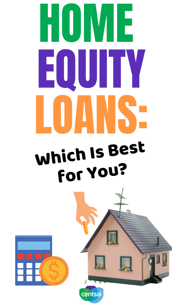 Home Equity Loans: Which Is Best for You? With record low mortgage interest rates and rising tappable home equity, homeowners can use their home equity to seek loans at low rates. Check out our home equity loan tips for you. #CentSai #homequityloantips #homeequity #homecalculator #realestate