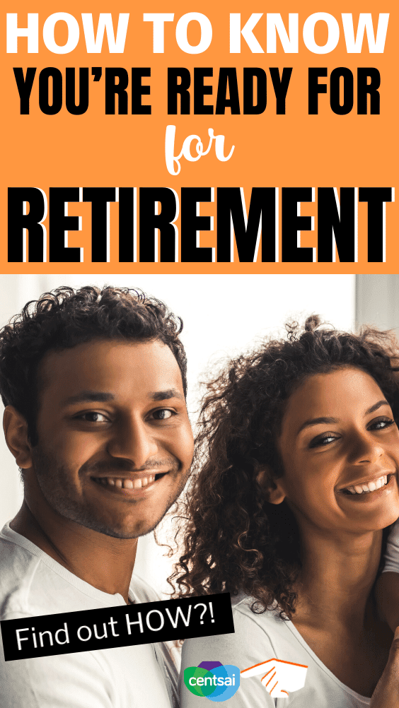 How to Know You're Ready for Retirement. Taking the plunge and leaving the workforce can be filled with second-guesses. Our video breaks down how to know you're ready for retirement. #CentSai #retirement #financialplanning #personalfinance