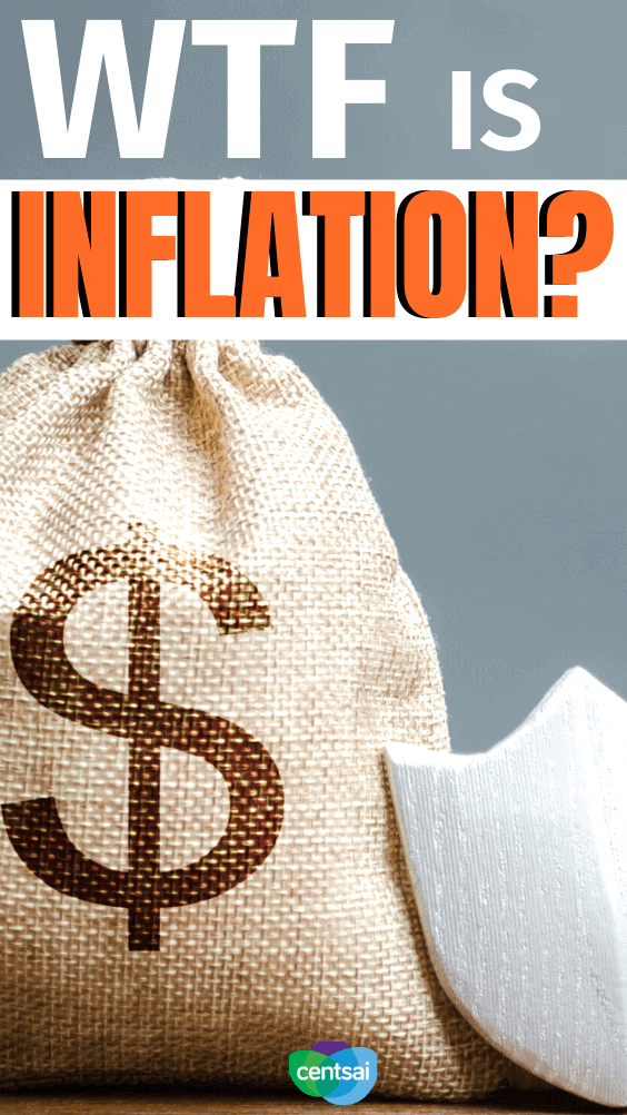 WTF Is Inflation? Ever wonder why small bags of chips seem to constantly get more expensive? That's inflation. Learn what it is, and how it affects you. #CentSai #inflationeconomic #inflation #financialliteracy #WTF