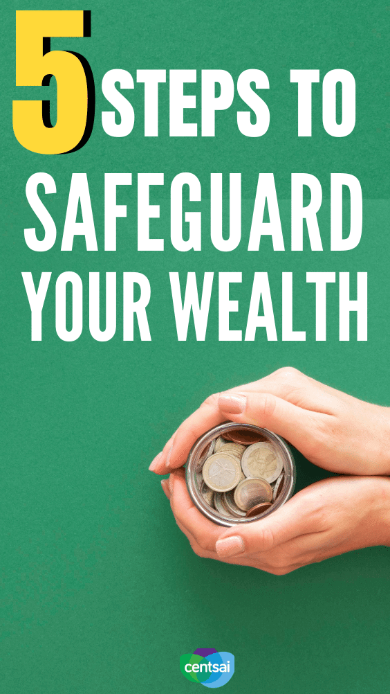 5 Steps To Safeguard Your Wealth. You shouldn't have to worry about losing your savings. Watch this video to learn how you can ensure that you have financial security. #CentSai #personalfinance #financialplanning #moneymanagement