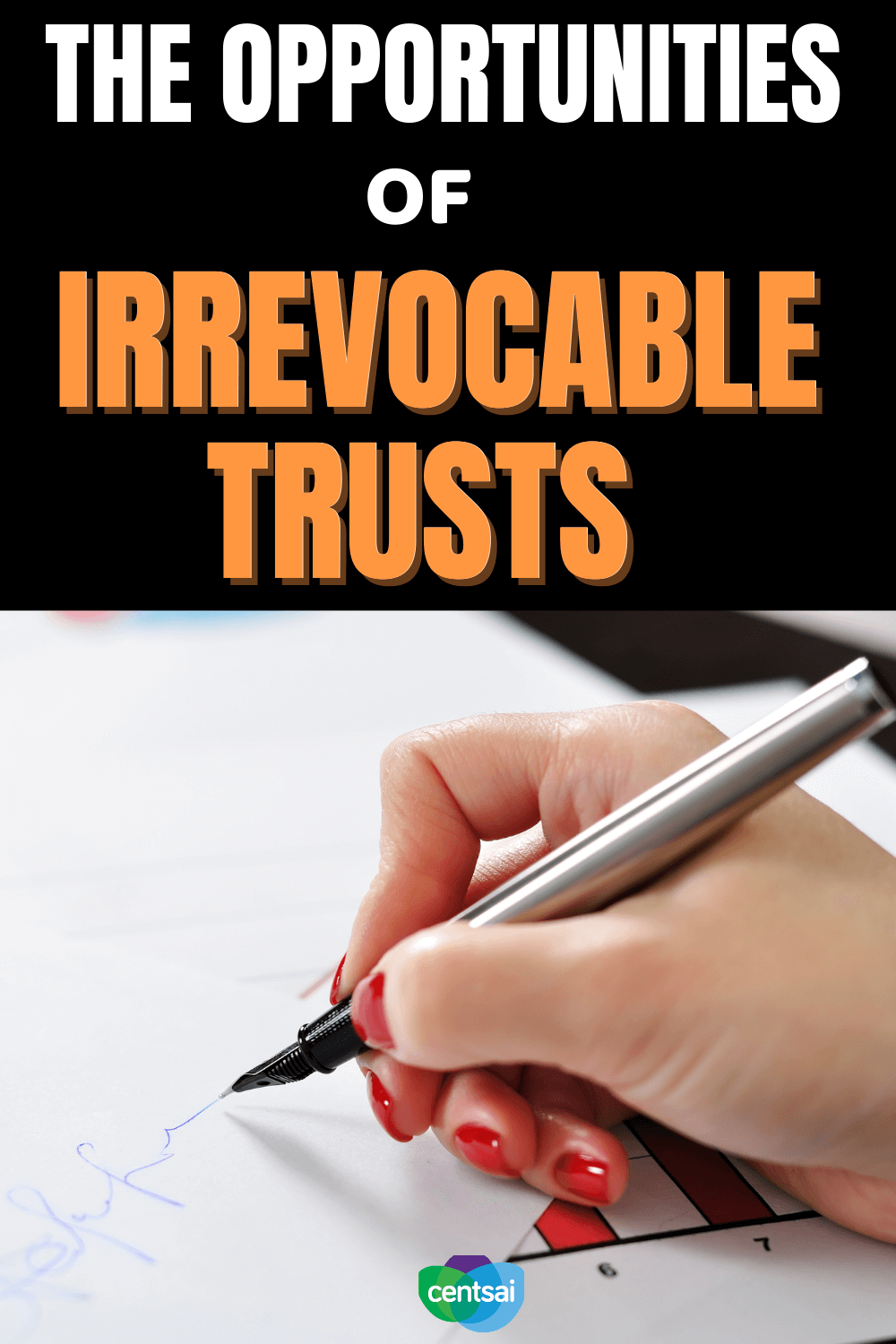 The Opportunities of Irrevocable Trusts. Irrevocable trusts ensure tax benefits to the guarantor, but they come with restrictions. Read up on what you should know beforehand. Check out CentSai to learn more about financial planning tips. #CentSai #Irrevocabletrusts #financialplanning #moneymanagement